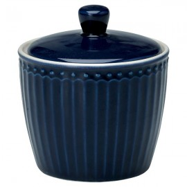 Cukierniczka Sugar pot Alice dark blue