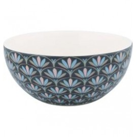 Cereal bowl Victoria dark grey