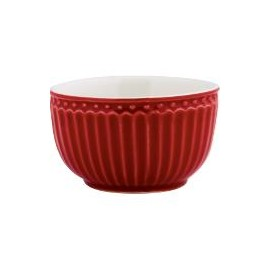 Mini bowl Alice red