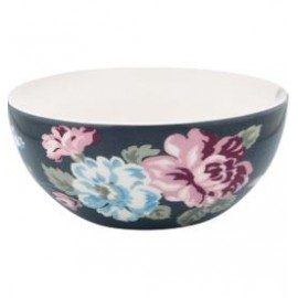 MISECZKA SZARA- CEREAL BOWL MAUDE DARK GREY GREEN GATE