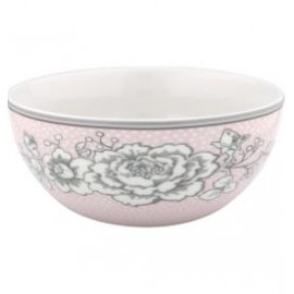 Cereal bowl Ella pale pink