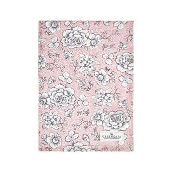 Tea towel Ella pale pink