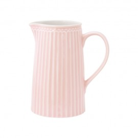 DZBANEK JUG ALICE PALE PINK 1L GREEN GATE