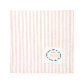 Napkin Alice stripe pale pink