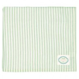 Tablecloth Alice stripe pale green 145x250cm