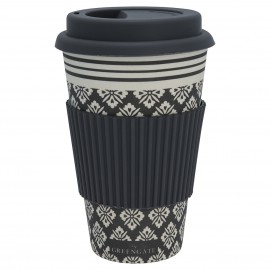 Travel mug Jackie dark grey
