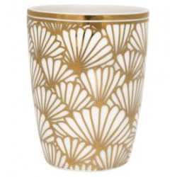 KUBEK DO ESPRESSO CUP JACQUELINE GOLD GREEN GATE