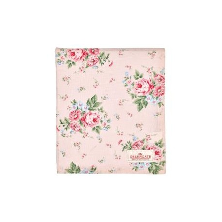 Tablecloth Marley pale pink 150x150cm