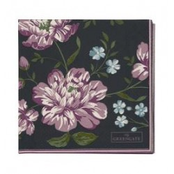 SERWETKA PAPIEROWA PENELOPE DARK GREY SMALL GREEN GATE