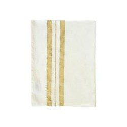 Tea towel Corine white