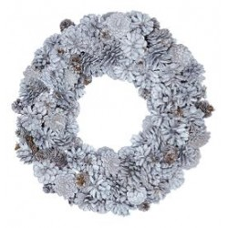 nowe Wreath Hailey white large