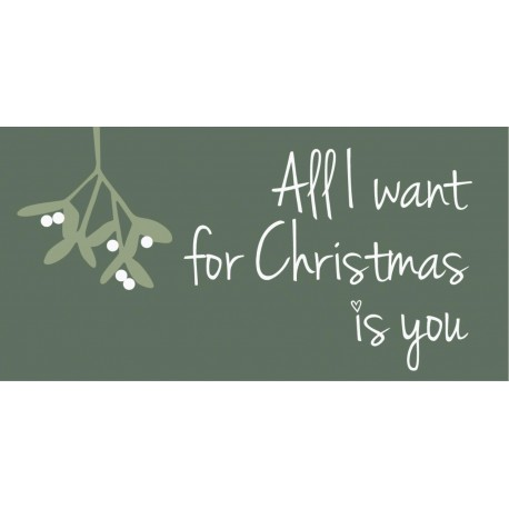 Magnet All I want for Christmas is you