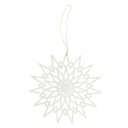 Christmas ornament paper star