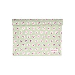 2019Table runner Cherry berry p.green
