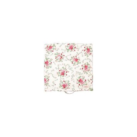 2019Box cushion Mary white 50x50cm