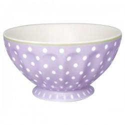 2109French bowl xlarge Spot lavendar