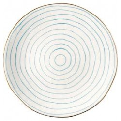 2019Dinner plate Sally pale blue