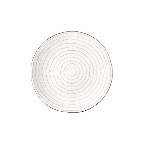 2019Dinner plate Sally pale pink