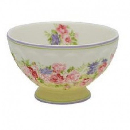 GG French bowl medium Rose pale yellow