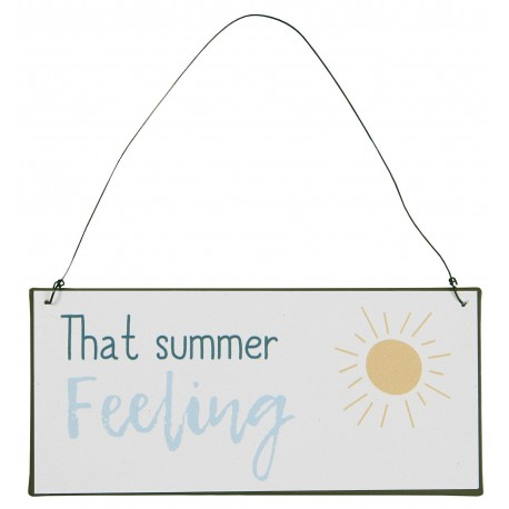 TABLICZKA METALOWA That summer feeling  IB LAURSEN