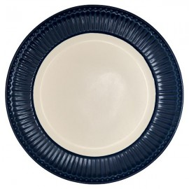 Talerz Dinner plate Alice dark blue