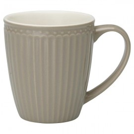 Kubek Mug Alice warm grey H:9,5cm