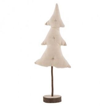 Juletræ stof m/træfod