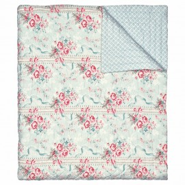 NARZUTA BED COVER BETTY MINT 100X140 GREEN GATE