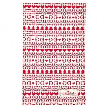 Ściereczka kuchenna Tea towel December red 50x70cm