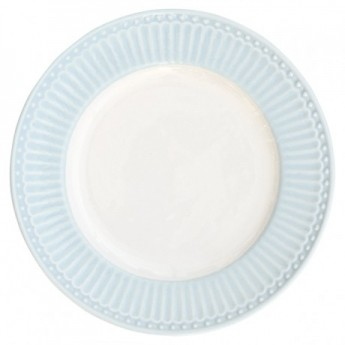 Plate small Alice pale blue