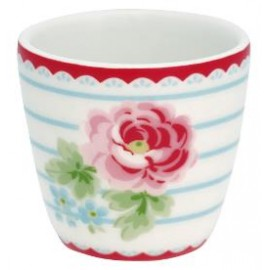 Egg cup small Lily white