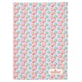 Tea towel Miranda pale pink