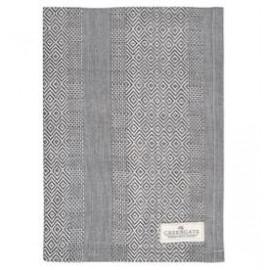Tea towel Sille warm grey