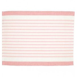 Placemat Alice stripe pale pink