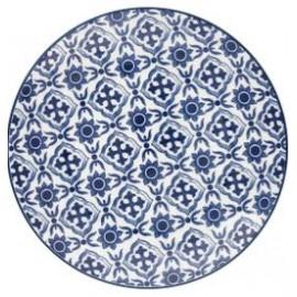 Plate Hope blue