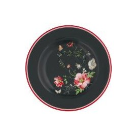 Small plate Meadow black