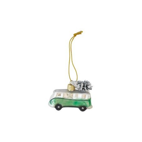 Mini van glass Marley pale green small