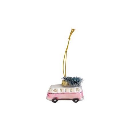 Mini van glass Marley pale pink small