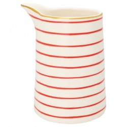 Jug Sally red w/gold 0,5L