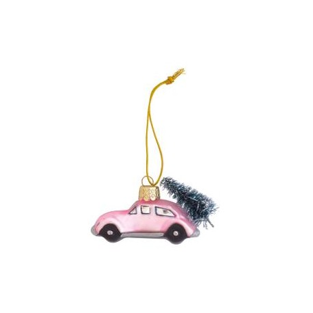 nowe Car glass Marley pale pink small