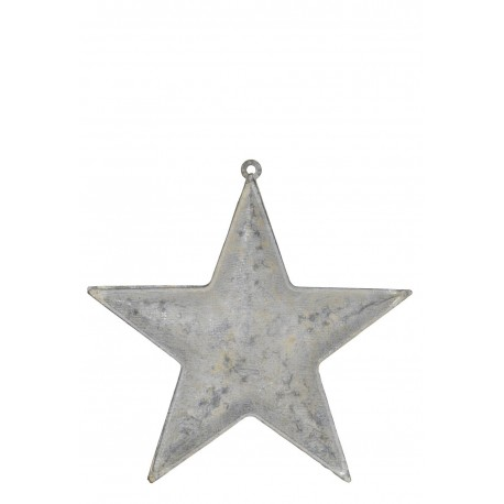 Star for hanging no ribbon