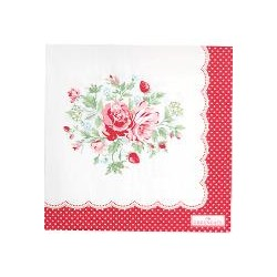 2019Napkin Mary white large 20pcs