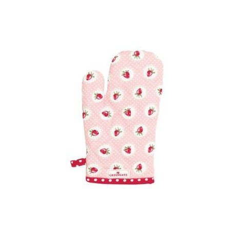 2109Grill glove Strawberry pale pink