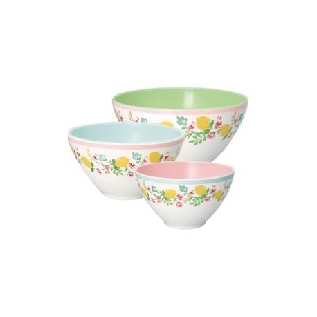 2019Salad bowl Limona white set of 3