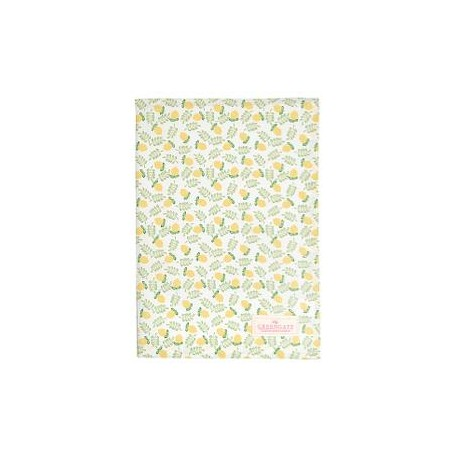 2019Tea towel Limona petit white