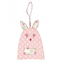 2019Egg warmer rabbit Spot pale pink