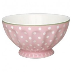 2019French bowl xlarge Spot pale pink