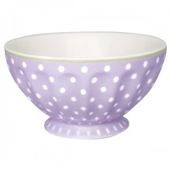 2109French bowl xlarge Spot lavendar