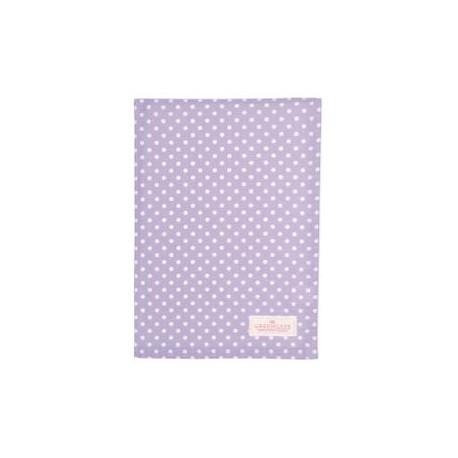 2019Tea towel Spot lavendar