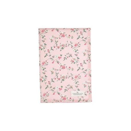 2019Tea towel Jolie pale pink